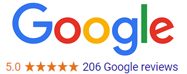J&L Air Conditioning Google Rating